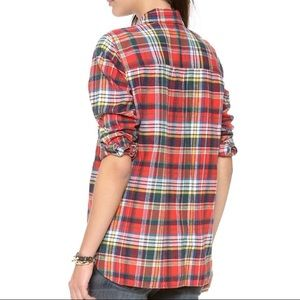 Madewell Ex-Boyfriend Plaid Shirt